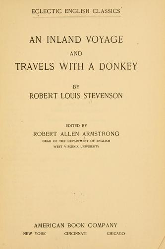 Download An  inland voyage and Travels with a donkey