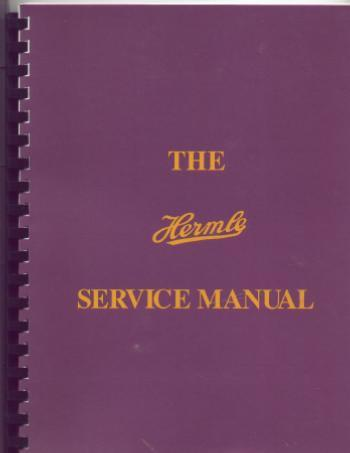 The Hermle service manual by Roy A. Hovey