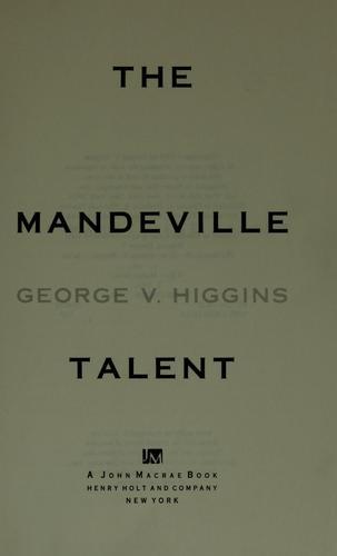 The Mandeville talent