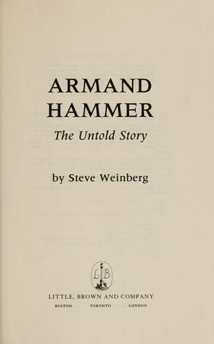 Download Armand Hammer