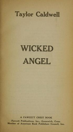 Wicked angel.