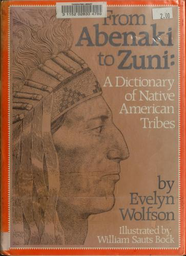 From Abenaki to Zuni