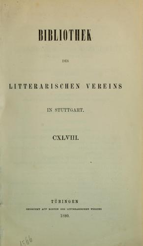 Die beiden ältesten lateinischen Fabelbücher des Mittelalters