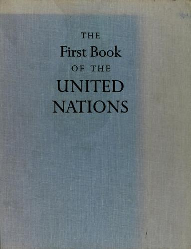 The first book of the United Nations.