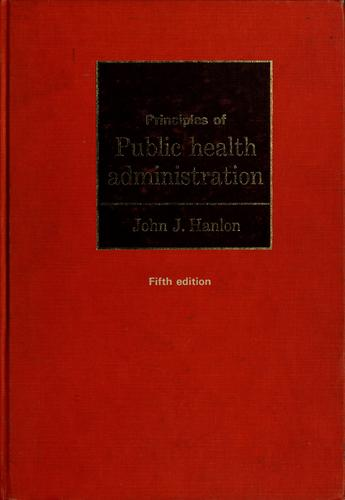 Download Principles of public health administration