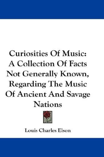 Download Curiosities Of Music