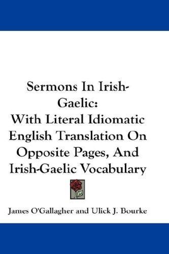 Sermons In Irish-Gaelic
