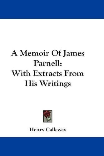 A Memoir Of James Parnell