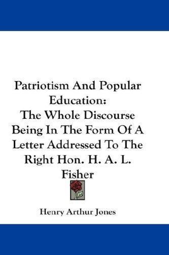 Patriotism And Popular Education