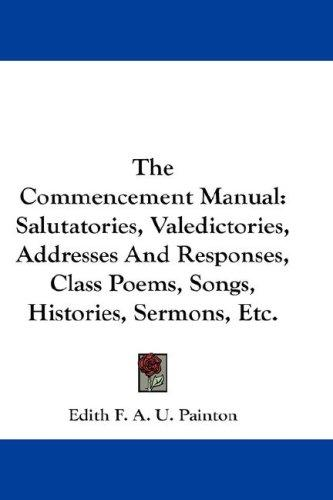 The Commencement Manual