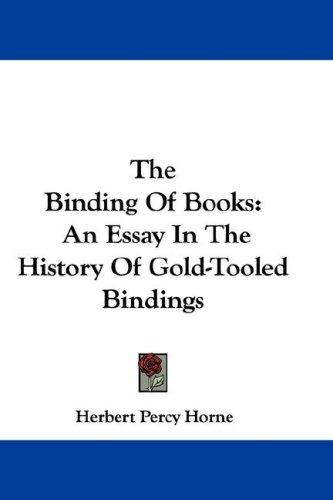 The Binding Of Books