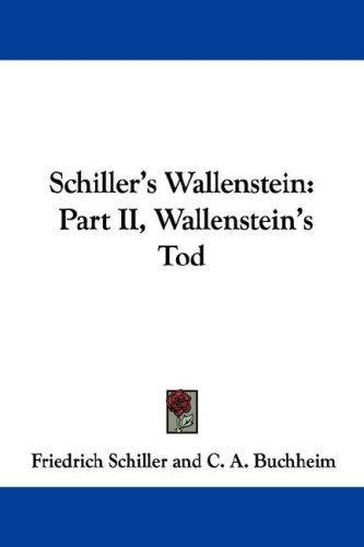 Download Schiller's Wallenstein