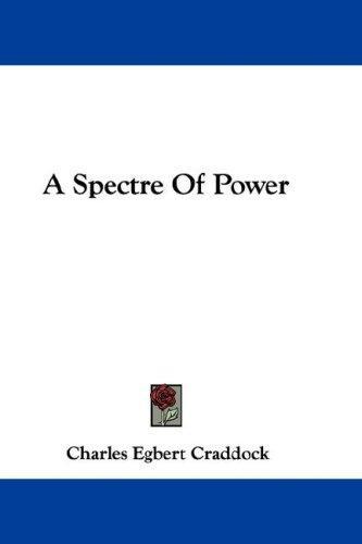 A Spectre Of Power