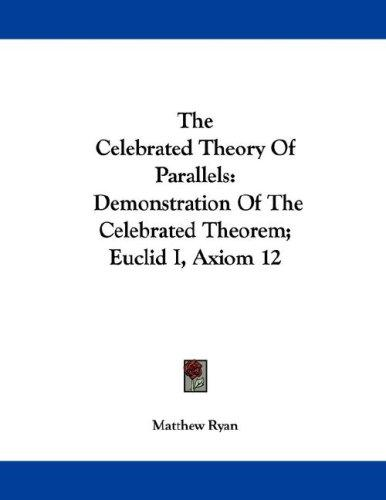 Download The Celebrated Theory Of Parallels