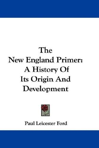 The New England Primer