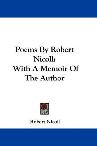 Poems By Robert Nicoll