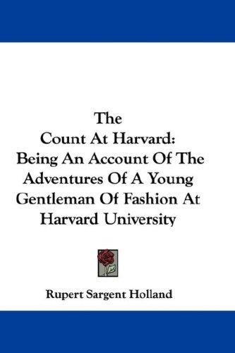 Download The Count At Harvard