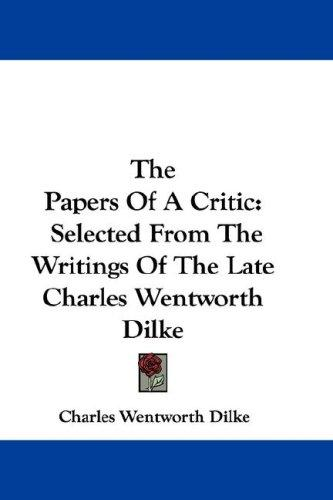The Papers Of A Critic