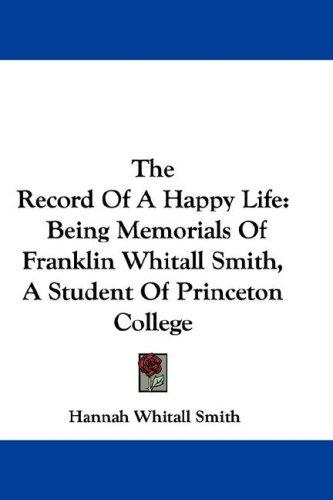 Download The Record Of A Happy Life