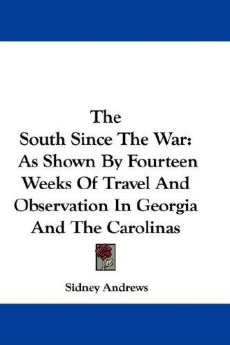 Download The South Since The War