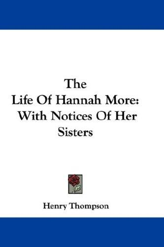 Download The Life Of Hannah More