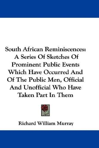 Download South African Reminiscences