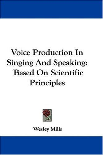 Download Voice Production In Singing And Speaking
