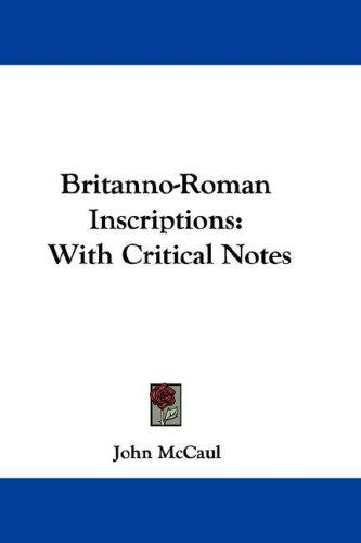 Download Britanno-Roman Inscriptions