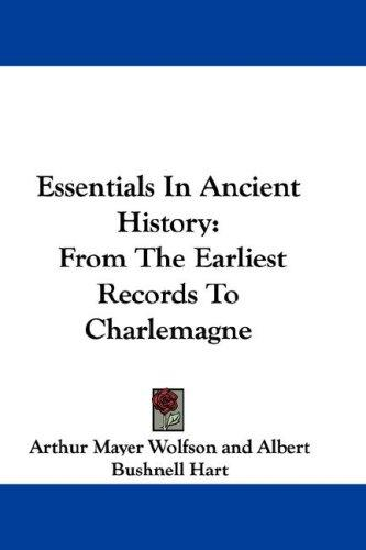 Download Essentials In Ancient History