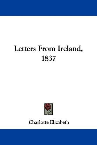 Download Letters From Ireland, 1837