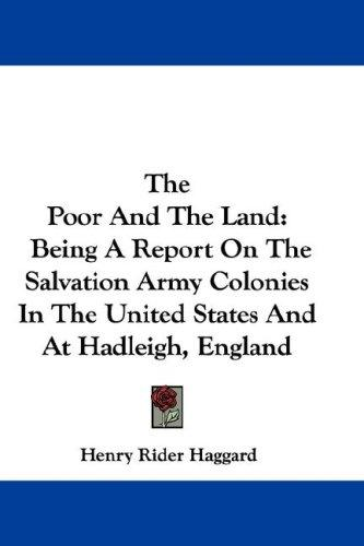 Download The Poor And The Land