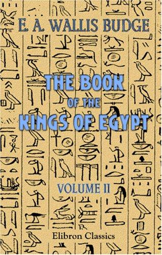 Download The Book of the Kings of Egypt