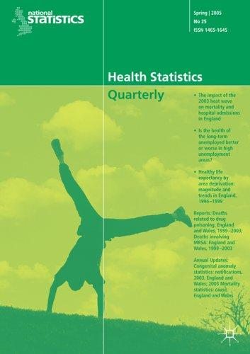 Download Health Statistics Quarterly