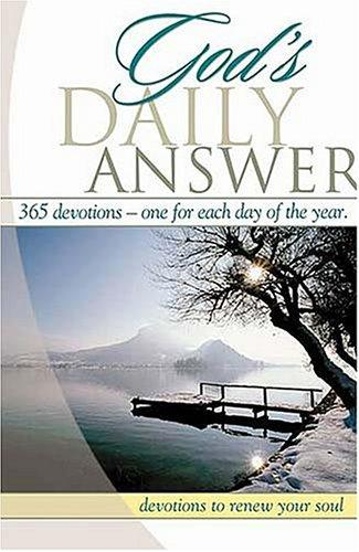 God's Daily Answer