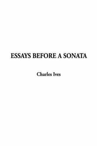 Download Essays Before a Sonata