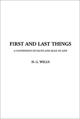Download First and Last Things