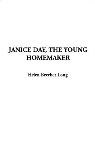 Janice Day, the Young Homemaker