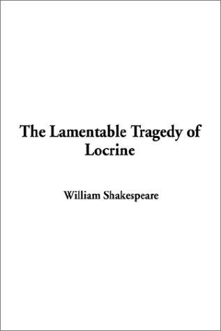 Download The Lamentable Tragedy of Locrine