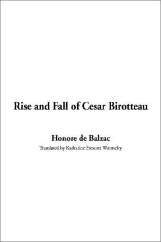 Download Rise and Fall of Cesar Birotteau