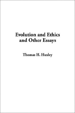 Download Evolution and Ethics and Other Essays