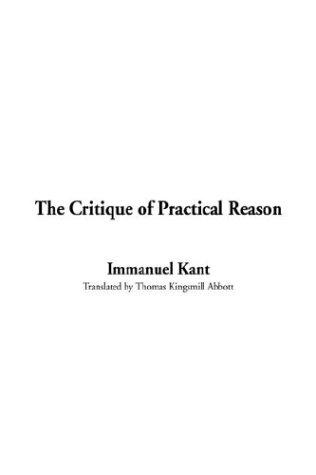 Download The Critique of Practical Reason