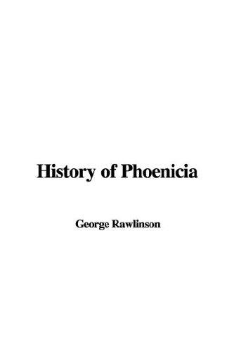 Download History of Phoenicia