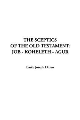 Download The Sceptics of the Old Testament