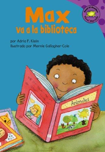 Download Max Va a La Biblioteca (Read-It! Readers En Espanol) (Read-It! Readers En Espanol)