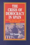 Download The Crisis of Democracy in Spain