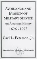 Download Avoidance and Evasion of Military Service