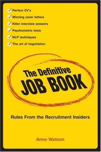 The Definitive Job Book