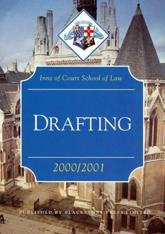 Download Drafting (Inns of Court Bar Manuals)