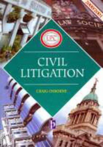 Civil Litigation (Legal Practice Course Guides)
