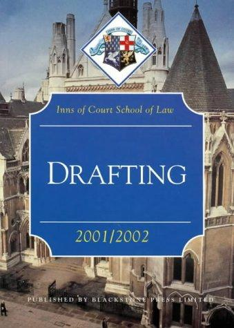 Drafting (Inns of Court Bar Manuals)